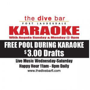 Karaoke at Dive Bar