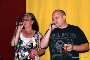 Couple Karaoke at Mugshots