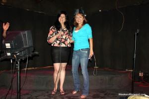 Karaoke at Cheers