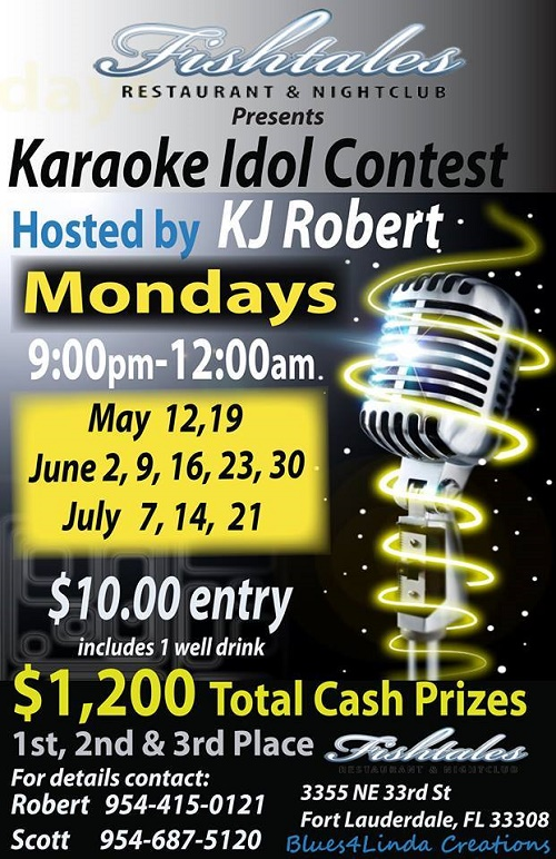 Karaoke Contest Fishtales