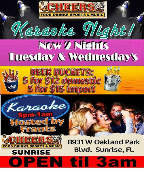 Karaoke Tuesday Wednesday