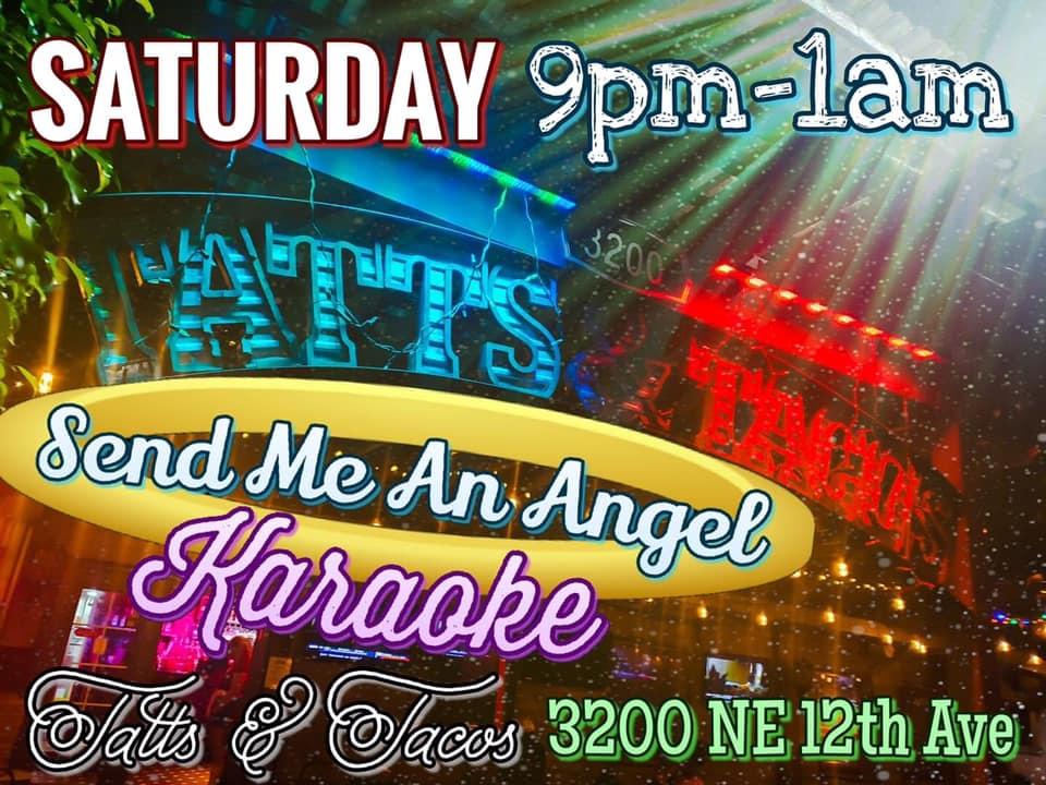 Saturday night Karaoke at Tatts & Tacos in Oakland Park